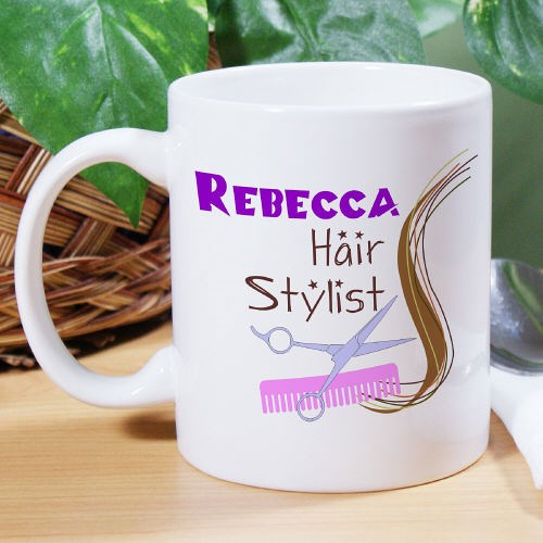 Personalized Hair Dresser Coffee Mug