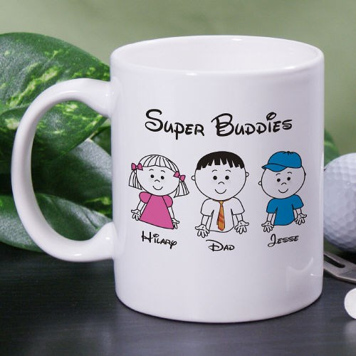 Custom Printed Dad Coffee Mug