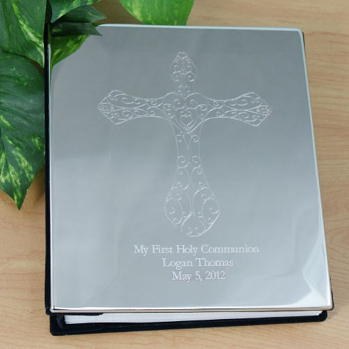Engraved My First Holy Communion Silver Photo Album 8552900
