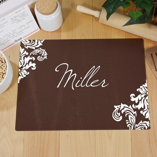 Personalized Family Welcome Cutting Board 63174233