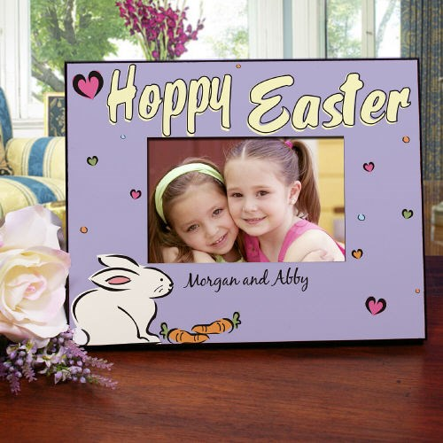Personalized Happy Easter Picture Frame