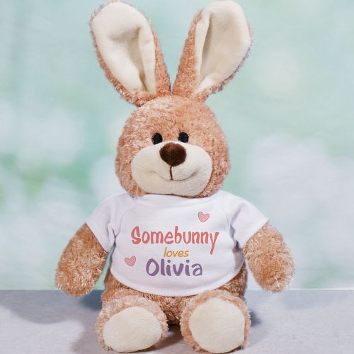 Personalized Somebunny Loves Me Easter Bunny 866508