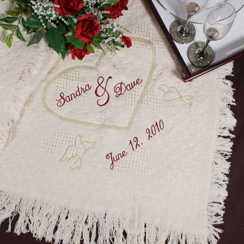 Personalized Love Afghan