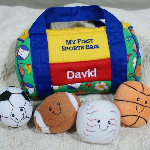 Embroidered Sports Bag