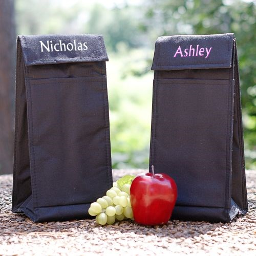 Personalized Kids Lunch Tote Bags