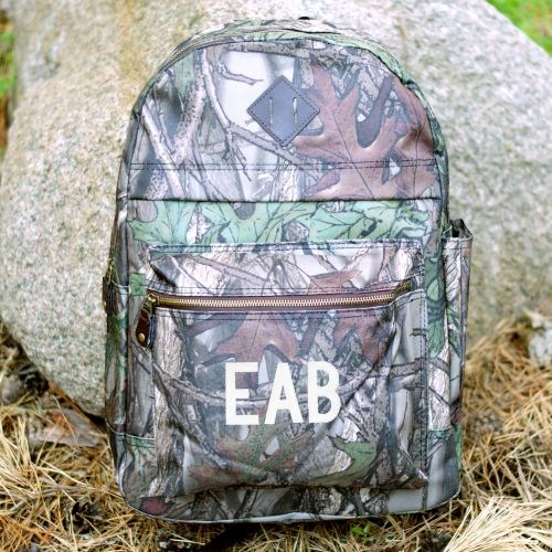 Embroidered Camo Computer Backpack E7653140