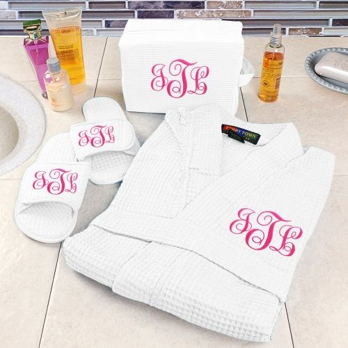 Embroidered Spa Gift Set E7673176X