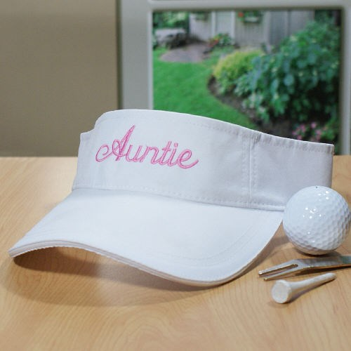 Personalized Visor Caps