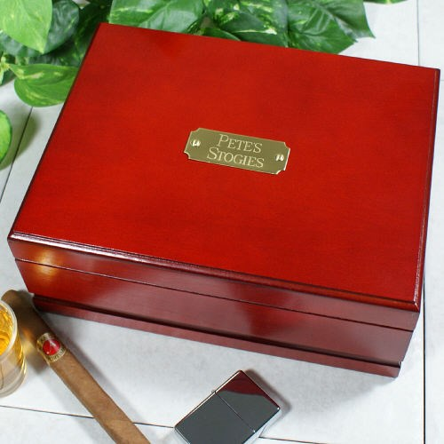 Engraved Humidor for Him
