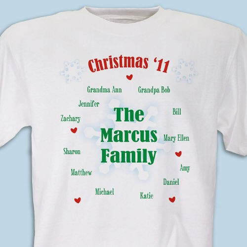 Personalized Christmas Family Reunion Shirts