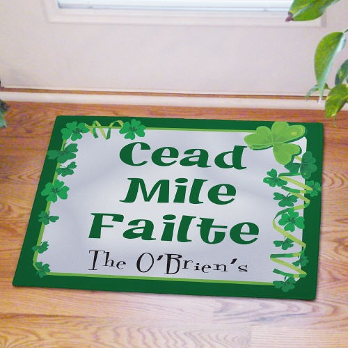 Custom Printed Irish Doormat