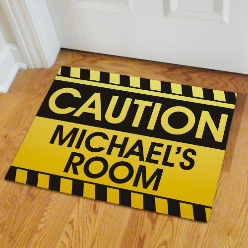 Custom Printed Boy's Room Doormat