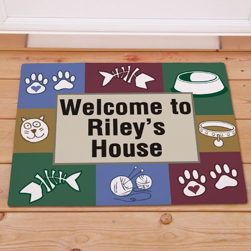 Custom Printed Pet Doormat