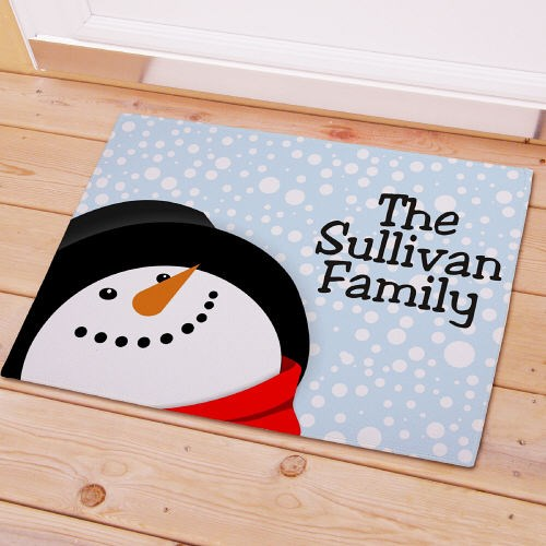 Let It Snow Personalized Welcome Doormat 83125417