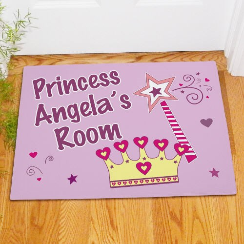 Custom Printed Princess Door Mats