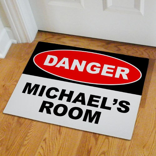 Personalized Boys Room Door Mat