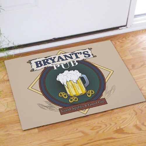 Personalized Pub Door Mat