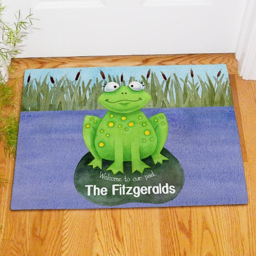 Personalized Welcome to Our Pad Doormat 83155467