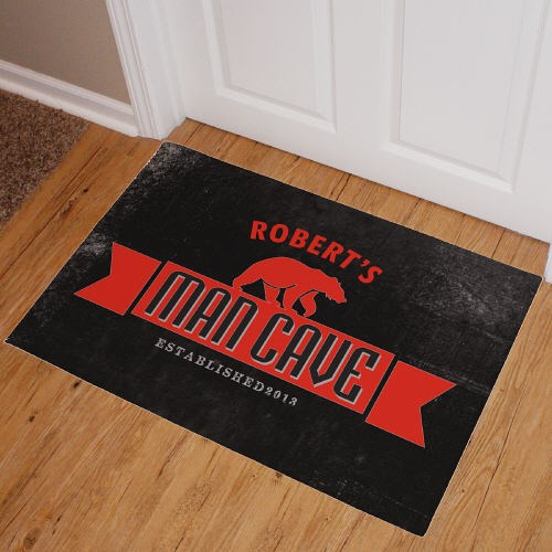 Personalized Man Cave Doormat 83172487X