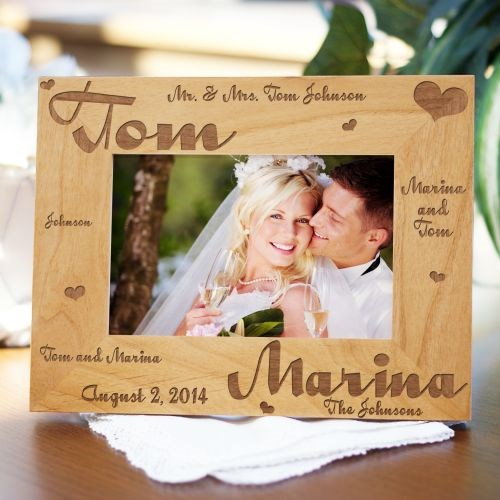 Mr. and Mrs. Wedding Picture Frame 98091X