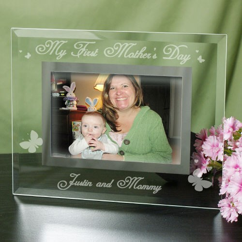 Engraved My First Mother's Day Glass Frame  G927851