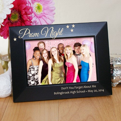 Engraved Prom Night Black Frame L753217X