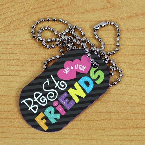 Personalized Best Friends Dog Tag 378231