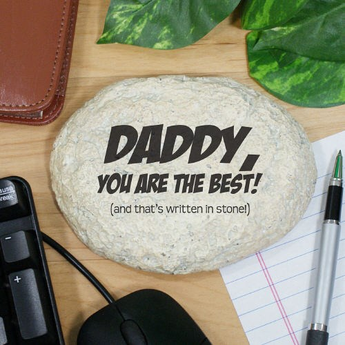 Engraved Father's Day Garden Stone L591914S