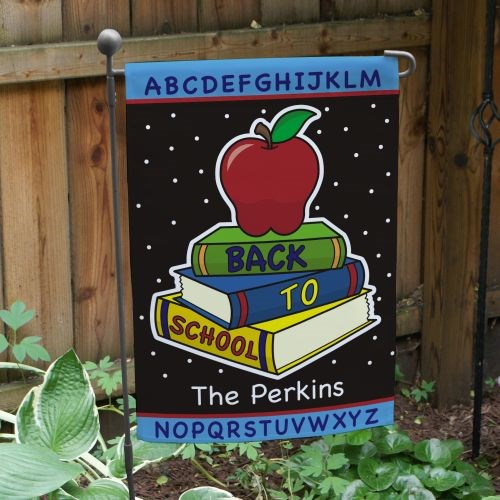 Personalized Back to School Garden Flag 83069692