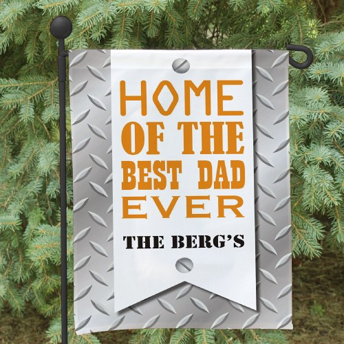 Personalized Dad Garden Flag 83075482