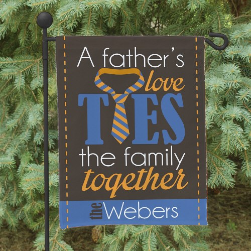 Personalized Father's Day Garden Flag 83076722