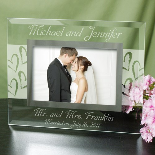 Mr. and Mrs. Wedding Picture Frame