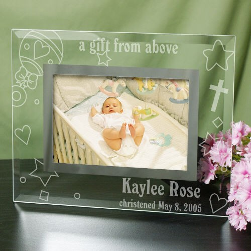 Personalized New Baby Glass Picture Frame G98131