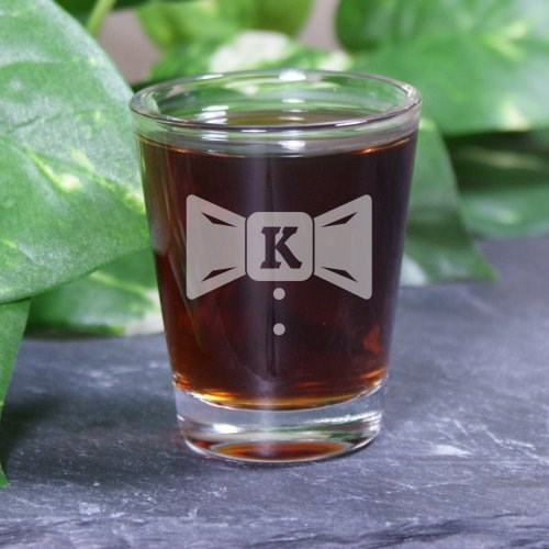 Personalized Groom & Groomsmen Shot Glasses