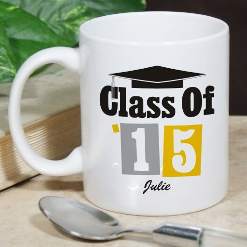 Personalized Graduation Coffee Mug for the Class of 2014