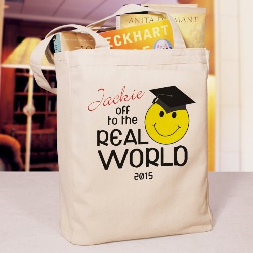 Custom Printed Class of 2014 Graduation Tote Bag