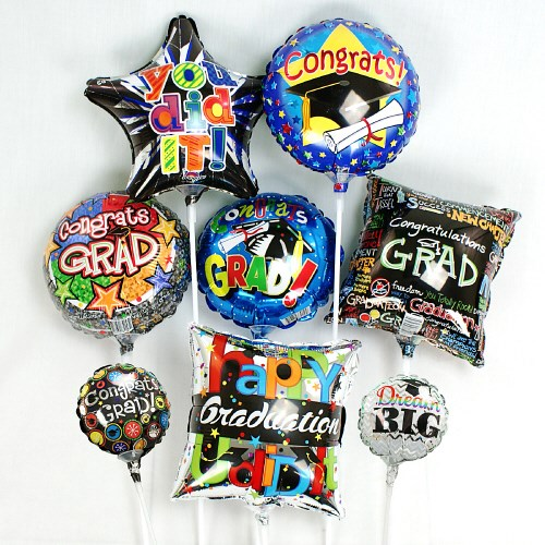 Mini Graduation Balloons MBGRADX