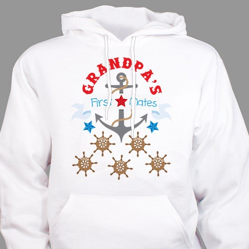 First Mates Hooded Sweatshirt H57888X