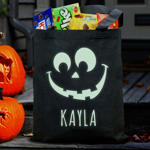 Halloween Glow In The Dark Treat Bag 878682BK
