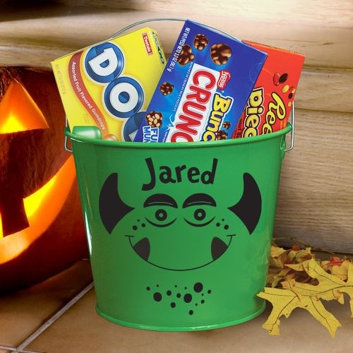 Personalized Halloween Bucket V78724GN