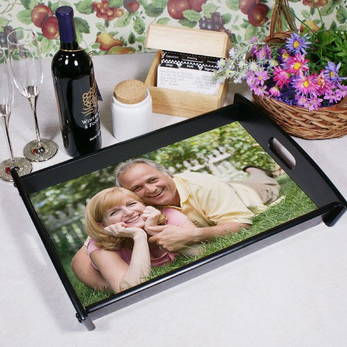 Personalized Picture Perfect Photo Serving Trays
