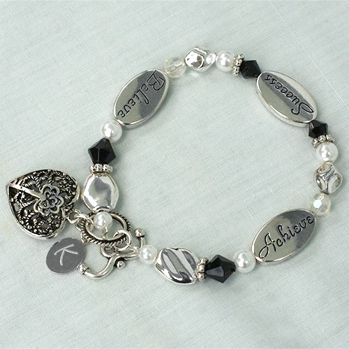 Engraved Graduation Bracelet J316531