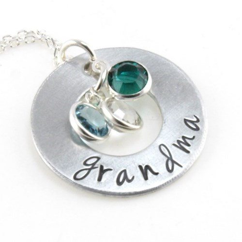 Family Circle Personalized Pendant DKBNKGAFF