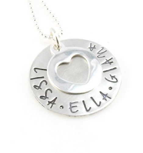 Personalized Mom Necklace DKALLHRT