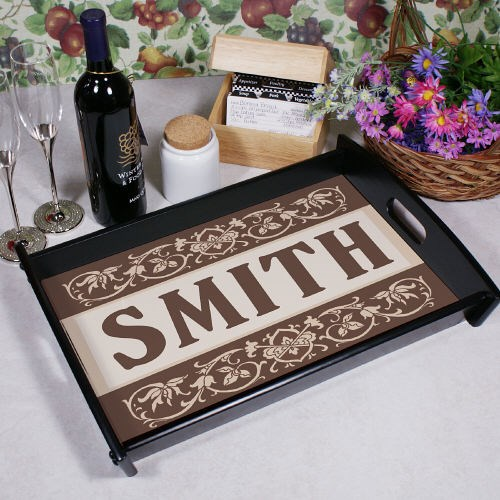 Family Welcome Personalized Serving Tray 42061ST
