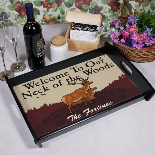 Neck of the Woods Serving Tray 42464ST