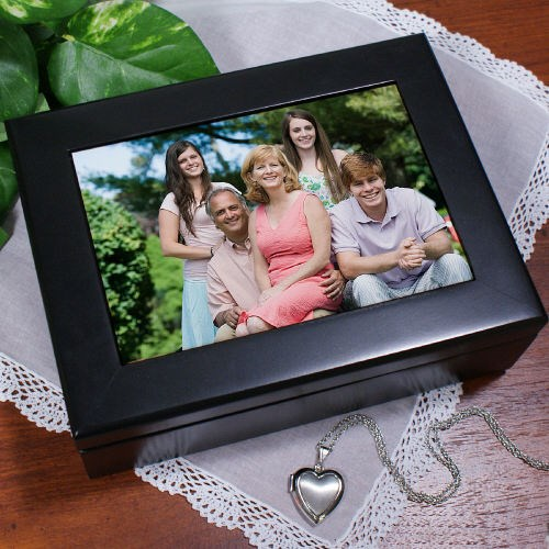 Personalized Photo Keepsake Box