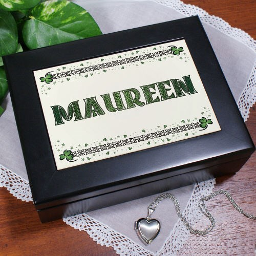 Personalized Irish Keepsake Box
