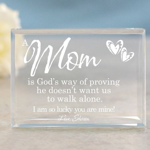 Engraved Keepsake for Mom