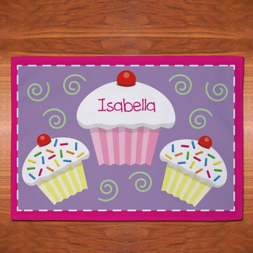 Personalized Cupcake Placemate U613821